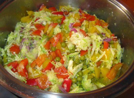 Trionfo di verdure miste