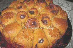 Boccioli di pan brioche al cioccolato fondente