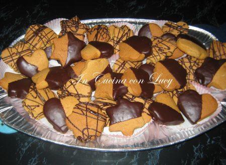 Biscotti di  pasta frolla all' arancia e senza burro