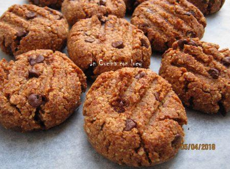 Biscotti alle mandorle senza zucchero al profumo di limone