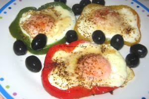 uova fritte in fiore