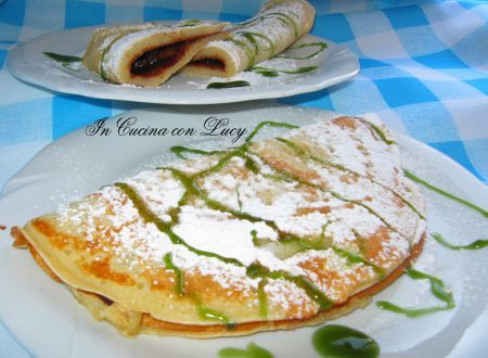 Crepes con la nutella bio.
