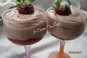 Crema pasticcera alle fragole