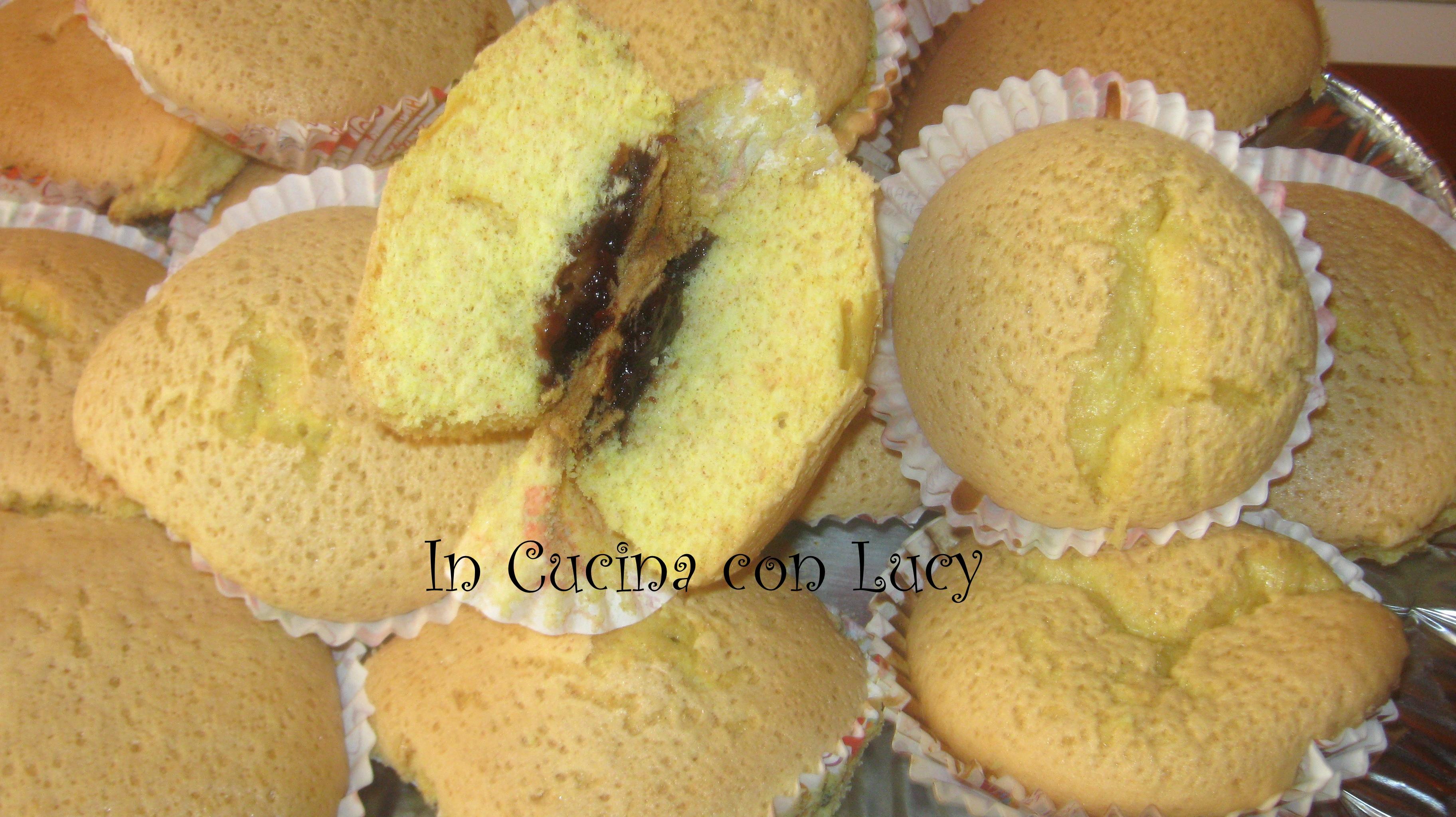 Muffin ai mirtilli senza burro al limone.