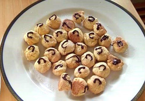 Favette(dolce) fritte con farina di riso