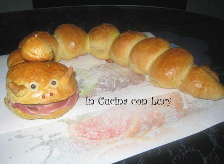 Bruco di pan brioche