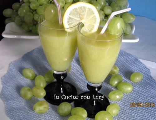 Estratto d'uva bianca e limone