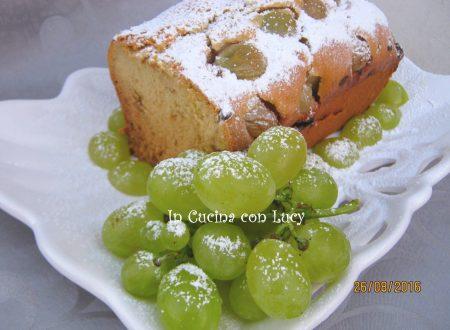 Plumcake di uva bianca aromatizzata