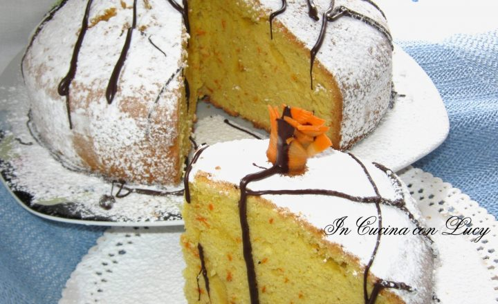 Torta di zucca carote e mandorle