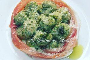 Canederli di spinaci e ricotta