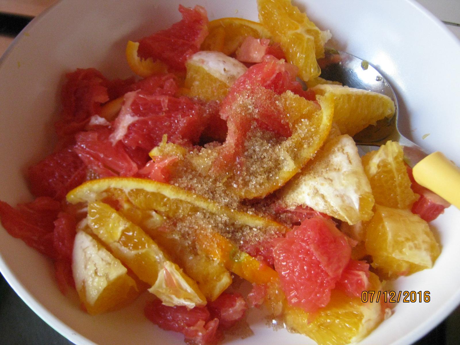 Riso venere agli agrumi e gamberetti