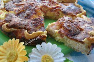 Torta salata con bacon e provola(versione bimby)