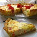 Crostata salata con bresaola emmenthal e fiocchi di latte