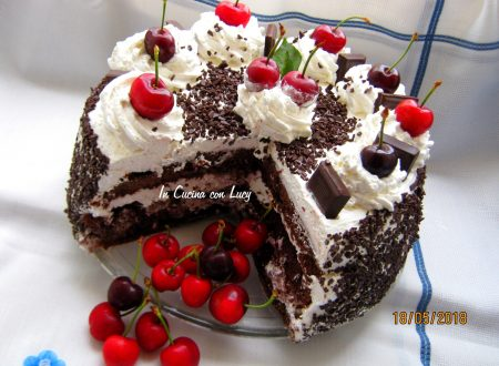 Torta Foresta nera senza glutine.