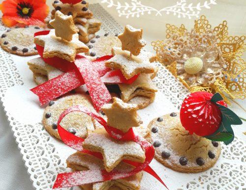 Alberelli e biscotti con confettura al sambuco.